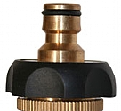 LQ04MR - Brass and rubber tap connector