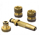 "LQ16M-2 - Brass quick coupling kit for 1/2"" (12.5mm) hose"