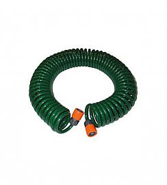 SP20-7.5 - Spring coil 7.5m hose in a cylinder incl. EK20 (Enlarge)